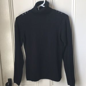 The Limited Sweaters - Black Turtleneck Sweater